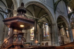 HDR sint-janskerk grote kerk sint-jan sint jan gouda glas in lood stained glass vitrail vitraux eglise church bedevaart pilgrimage pelerinage religie religion bedevaartsoord